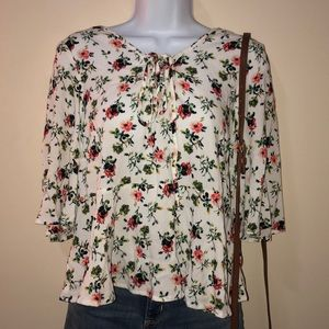 Mossimo Flowery Top